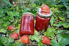 Gem natural de capsune, reteta simpla, veche, fara aditivi Salsa, Jar, Food, Syrup, Canning, Essen, Salsa Music, Meals, Yemek