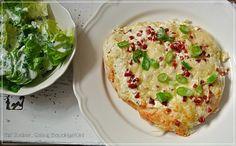 Mit Zucker, Salz & Bauchgefühl: Rahmfladen - und dazu gibt's Salat mit Joghurtdressing