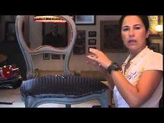 Upholstery 1 - Μάθημα ταπετσαρίας επίπλων Νο 1 - Ifigenias Home