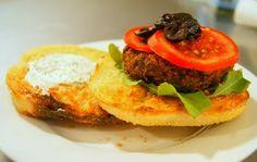 Vegan Ventures in Cuisine: KB's Bangin' Veggie Burgers