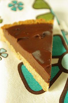 Tarte fine au chocolat IG bas (sans lactose, sans gluten) RECIPE
