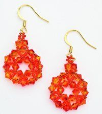 Free E-Book Download: Crystal Corona Earrings