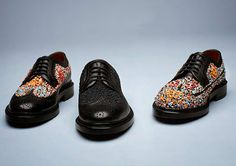 "Florsheim by Duckie Brown. How could you resist. ""I'll take a pair with sprinkles, please!"""