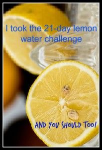 Lemons are a natural detox for your body. They cleanse you from the inside out. I took the 21 day challenge and have now been doing it for 8 months! Click here for the results I have noticed.