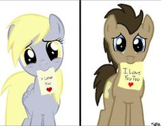 deviantART: More Like Derpy and Doctor Whooves by EternityFaprio