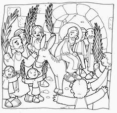 MATERIALES DE RELIGIÓN CATÓLICA: DOMINGO DE RAMOS Y SEMANA SANTA 2014