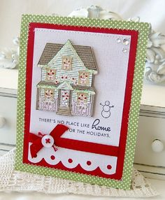 No Place Like Home Handmade Card