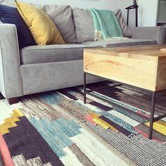 West Elm Multi Pixel Woven Wool Rug 8 X10 Area Rugs Throw Floor Mats
