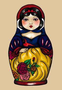 Snow White Matrioska