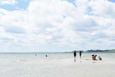 The photos were taken at a beach in Strands, Denmark.