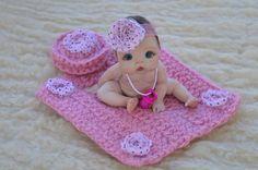 OoAk Mini Truffle Baby by *Bttrfly Creations* Tiny Dolls, New Dolls, Ooak Dolls, Cute Baby Dolls, Baby Girl Dolls, Reborn Toddler Dolls, Reborn Babies, Silikon Baby, Baby Barbie
