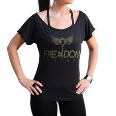 Limited Edition Logo Tee – Black   Every Purchase Helps End Sex Trafficking www.freedomculture.com