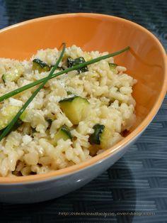 Un risotto courgettes parmesan Surimi Recipes, Endive Recipes, Veggie Recipes, Vegetarian Recipes, Healthy Recipes, Parmesan Risotto, Easy Cooking, Cooking Recipes, Risotto