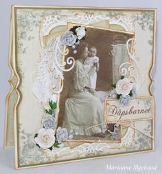 A card featuring the For Father collection and vintage image from Grandma's Attic ~ tinted
