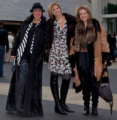 Anna Netrebko, Susan Graham and Renee Fleming all glammed up