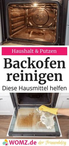 Backofen reinigen: Hausmittel statt Chemie – WOMZ – Keep up with the times. Household Cleaning Tips, Cleaning Checklist, Cleaning Hacks, Cake Recipes From Scratch, Easy Cookie Recipes, Mascarilla Diy, Lunch Lady Brownies, Chocolate Flavors, Diy Organization