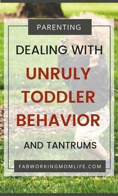 8 Tips for Taming Your Unruly Toddler Fab Working Mom Life If youre wondering how to deal with an unruly toddler here are some tips on how to deal with temper tantrums with the new strong willed child! Parenting Toddlers, Parenting Books, Good Parenting, Single Parenting, Parenting Quotes, Parenting Classes, Parenting Styles, Parenting Plan, Unruly Children