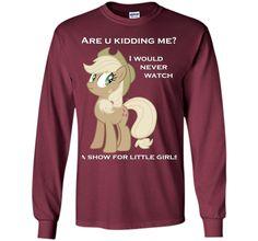 Applejack lies with Text tshirt