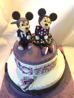 Torta Minnie y Mickey