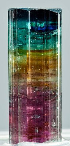Multicolored Tourmaline to enhance energies of all chakras!!