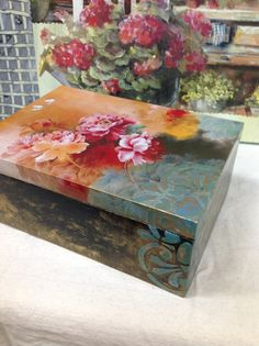 Decoupage box..