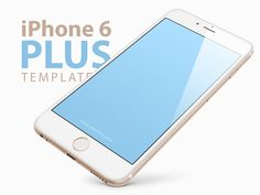 iPhone 6 PLUS, 5.5-inch Templates [PSD] by Ramotion