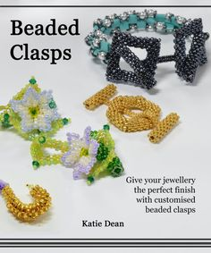 Beaded Clasps book with tutorials for basic clasps by Beadflowers