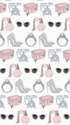 Tiffany Blue Wallpapers, Chanel Wallpapers, Pretty Wallpapers, Cellphone Wallpaper, Iphone Wallpaper, Flower Silhouette, Fashion Wallpaper, Arte Popular, Illustrations
