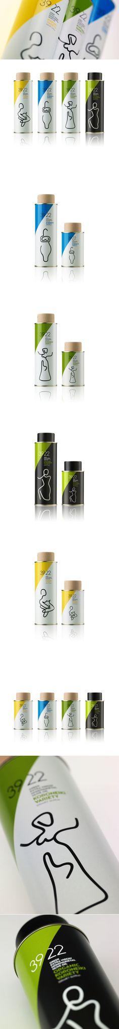 3922 Range of Extra Virgin Olive Oil — The Dieline   Packaging & Branding Design & Innovation News
