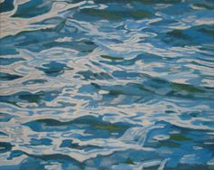 """Saatchi Online Artist: George Barecca; Oil, 2011, Painting """"The Eternal Underlying the Flux"""""""