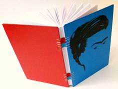 canteiro de alfaces - livros artesanais: frida kahlo