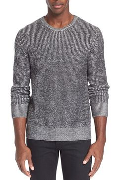 rag & bone 'Vincent' Waffle Knit Marled Sweater available at #Nordstrom