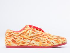 My two favourite things - fries and shoes - combined. I might be in Heaven, hahaha.