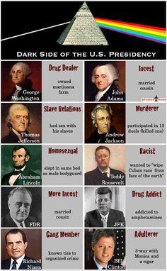 Dark side of the U.S. Presidency.