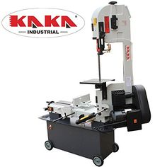 Kaka Industrial 7x12 Inch Metal Cutting Bandsaw, Solid De...…