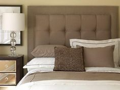 How to Upholster a Headboard Fabric Brown Furniture