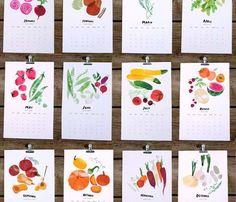 Seasonal Harvest Calendar 2013 - Featured Goods Uncovet
