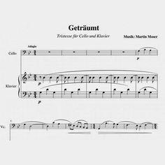 """""""Geträumt"""" Duett für Violoncello und Klavier"""