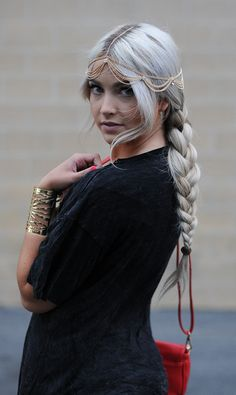 Gypsy .. Love the hair ..