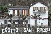 Grotto San Rocco, Luganersee (nur mit Schiff erreichbar)