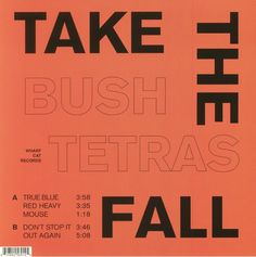 Image result for bush tetras take the fall