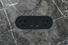 ZETR double outlet with double USB in matte black finished flush in marble with our adjustable mounting assembly. Electrical Switches, Electrical Outlets, Interior Styling, Interior Decorating, Splashback Tiles, Feature Tiles, Installation Manual, Wall Outlets, Wall Colors