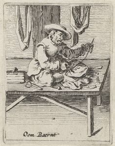 Kleermaker, Gillis van Scheyndel (I), Salomon Savery, 1638 Renaissance, Sitting Cross Legged, Medieval Crafts, Sewing Equipment, Tailor Shop, Old Magazines, Historical Clothing, Sewing Techniques, 17th Century
