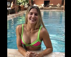 Tennis player Eugenie Bouchard is teasing the cyberspace with her bold pictures Canadian Tennis Player, Tennis Players Female, Tennis Girl, Eugenie Bouchard, Professional Tennis Players, Beautiful Female Celebrities, Beautiful Females, Simply Beautiful, Reportage Photo