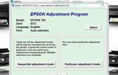 Epson Stylus Photo Adjustment Program is Working For Service Required Error, and Waste pad Counter, Life End, All Lights Blinking, Head Adjustment Ect. Find Password, Something Like You, Epson Inkjet Printer, Ink Pads, Stylus, Step By Step Instructions, Messages, Artisan, Key