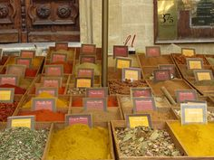 French Spices...lovely