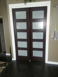 New Closet Doors Replaced The Bi Fold Doors