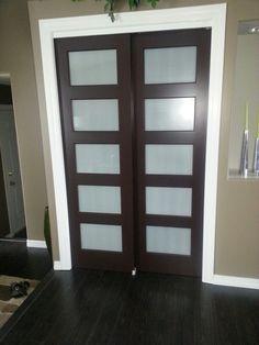 New Closet Doors Replaced The Bi Fold