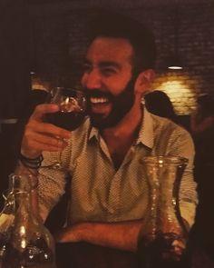 Sangria and laughs...#newyork #manhattan #nyc #bigapple #soho #greenwichvillage #westvillage #sangria #laugh #smile #greek #beard #instabeard #beardlife #bearded #tapas #spanish #fun #dontbeserious #alwayssmile by giorgostrakatrouka