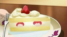 japanese cake animes food